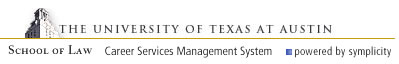 The University of Texas School of Law CSM